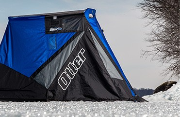 Otter outdoors for Otter ice fishing