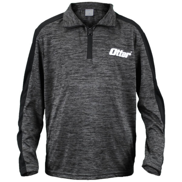 Youth Jr Pro Staff Quarter Zip with White Logo